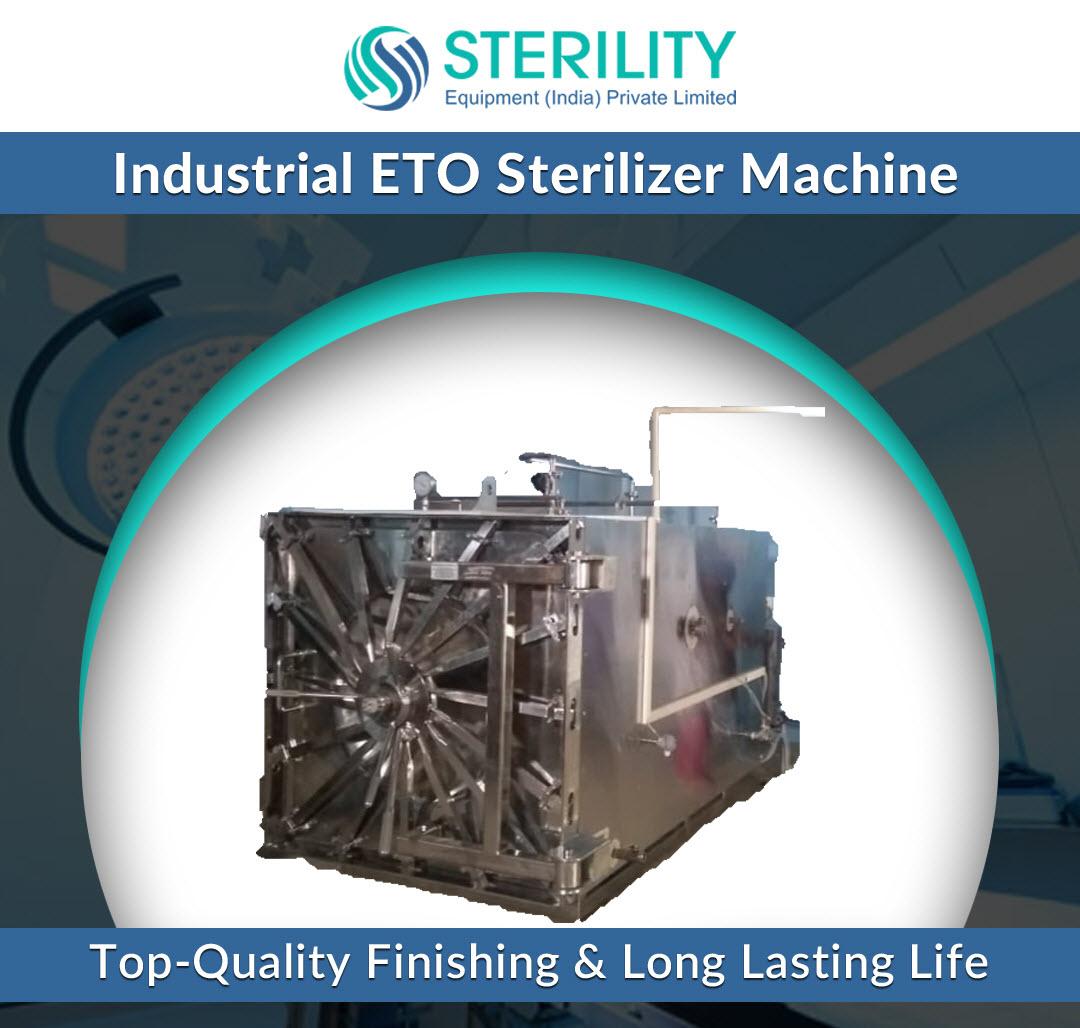Industrial ETO Sterilizer Machine